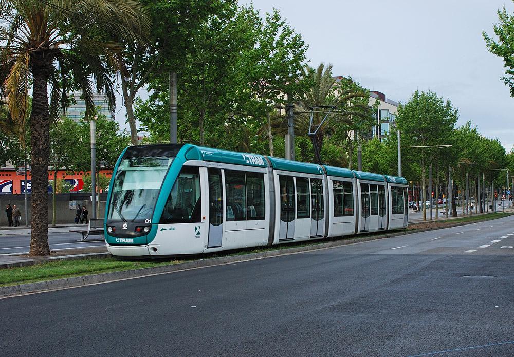 Барселона, Alstom Citadis 302 № 01