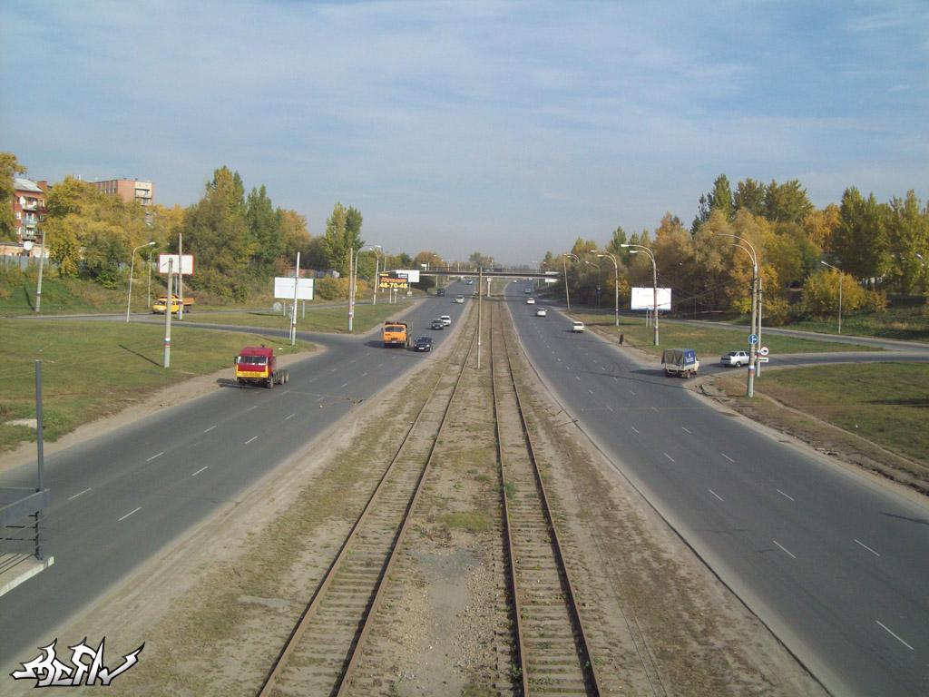 Омск — Трамвайные линии — Левобережье (демонтировано)