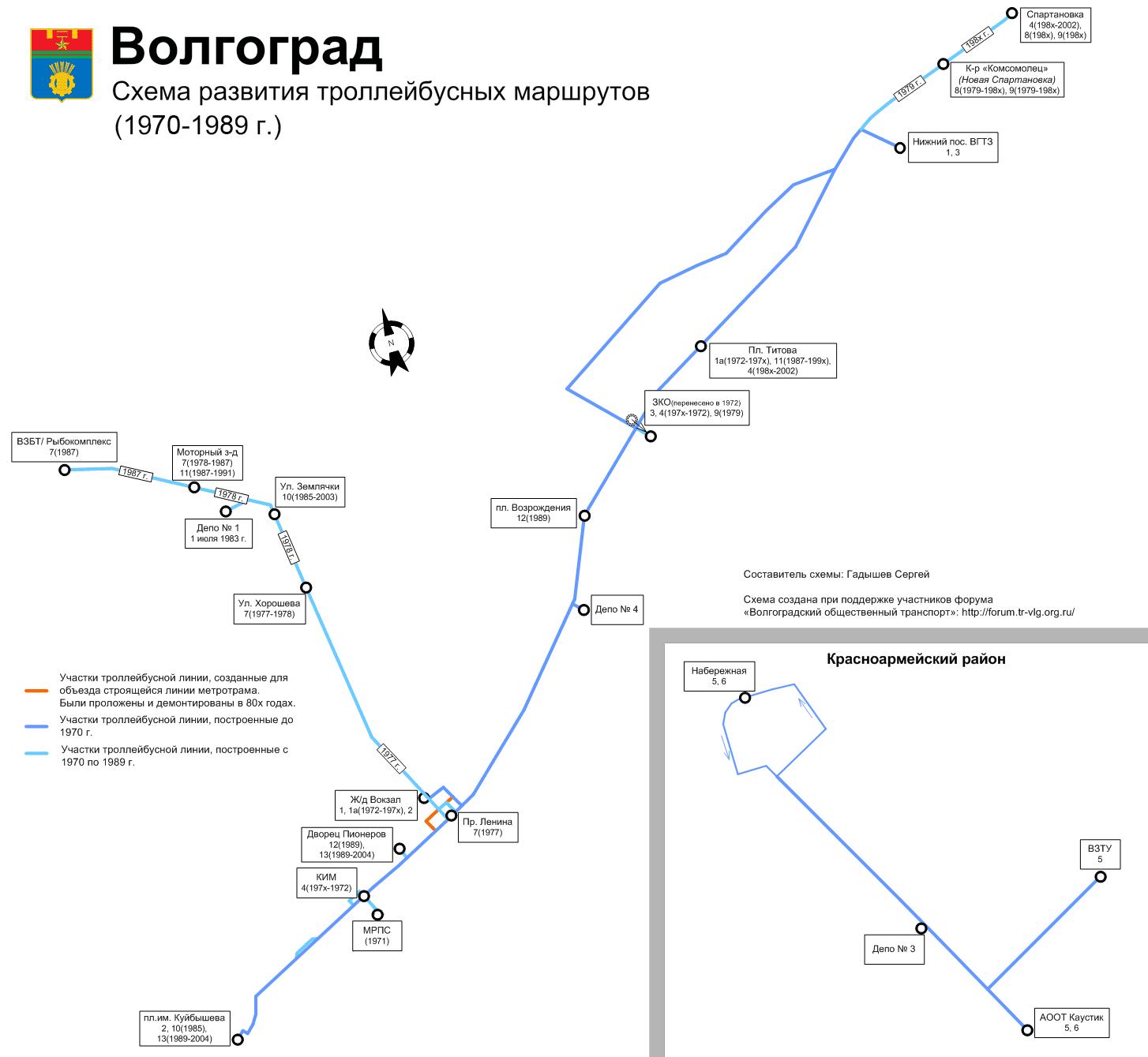 Волгоград схемы проезда