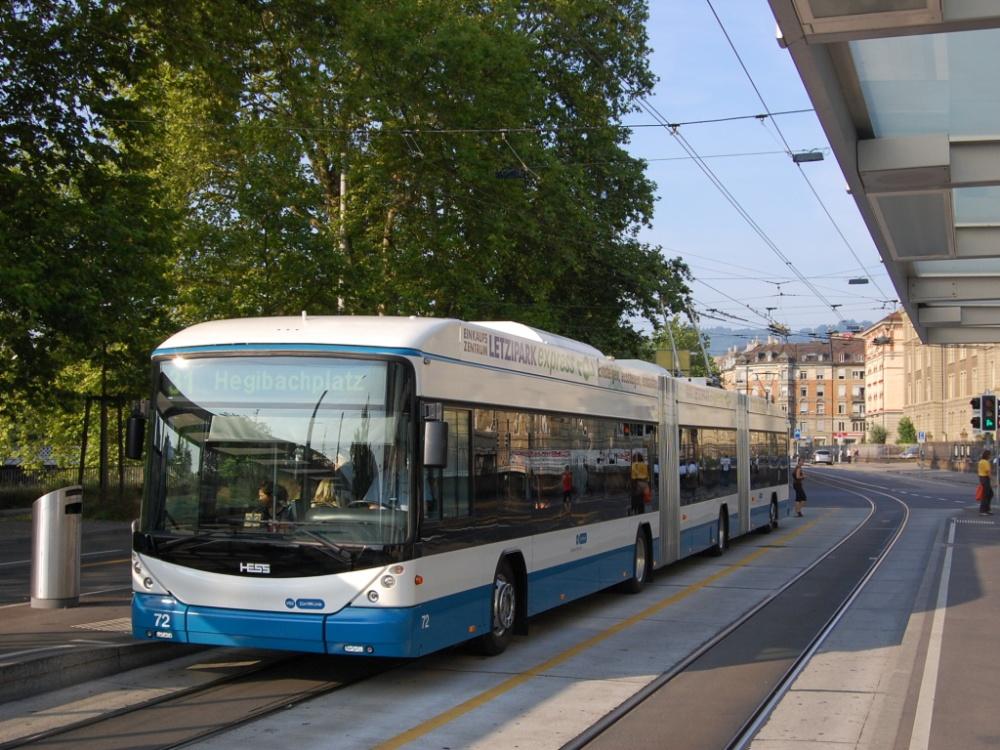 Цюрих, троллейбус Hess