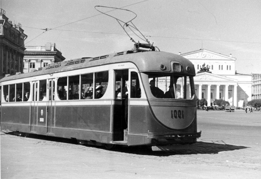 Фото: Москва, трамвай М-36 № 1001 — TransPhoto