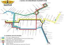 Николаев схема трамвая