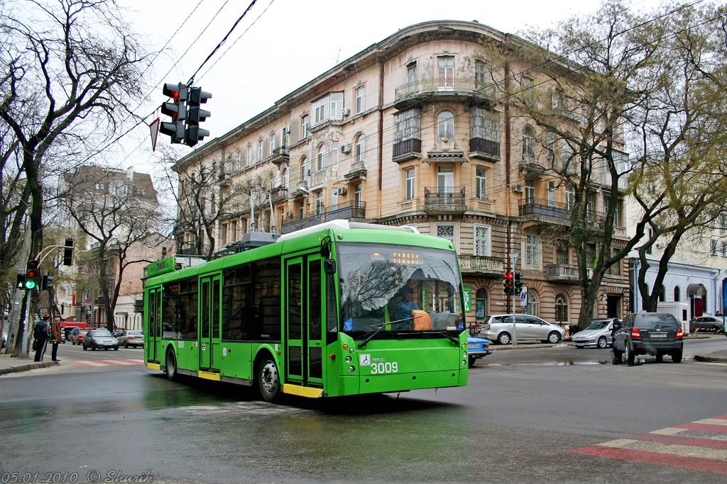 Одесса, Тролза-5265.00 «Мегаполис» № 3009
