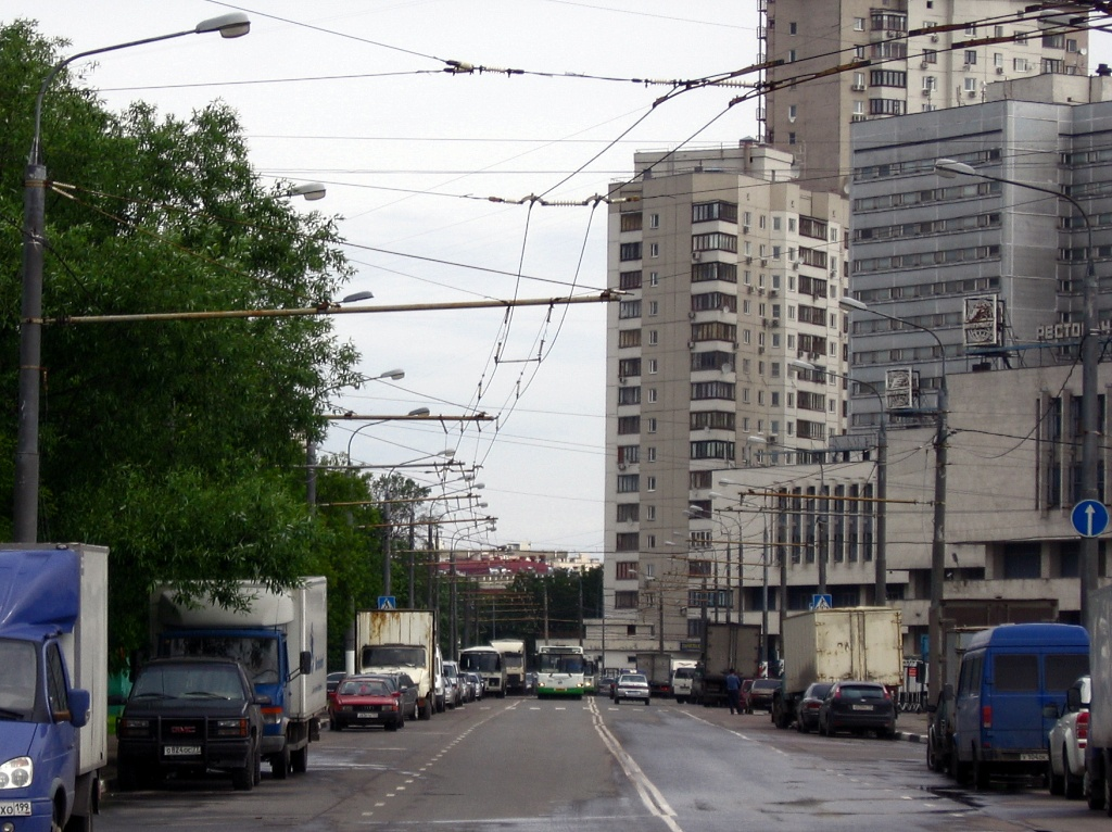 Moscow — Trolleybus lines: South-Western Administrative District