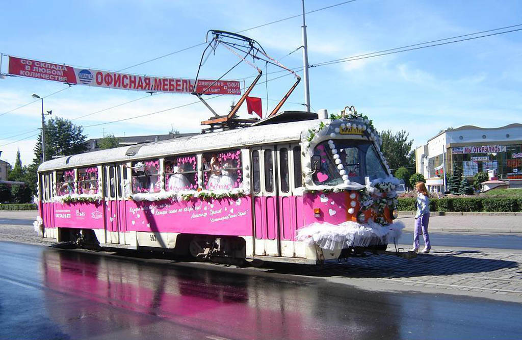 Трамвай для свадьбы