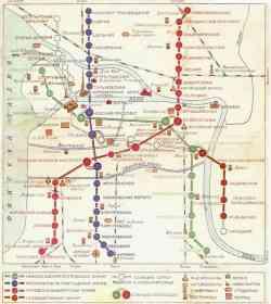 Метрополитен — схемы