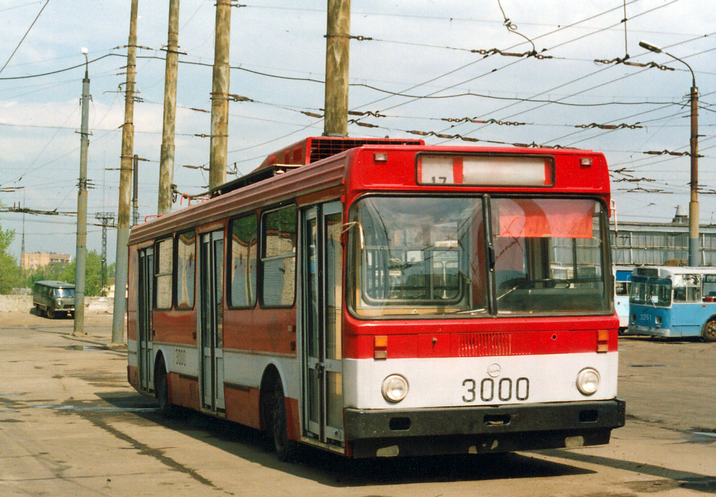 Moscow, LiAZ-5256T # 3000