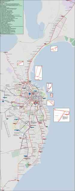 Одесса — Карты и схемы