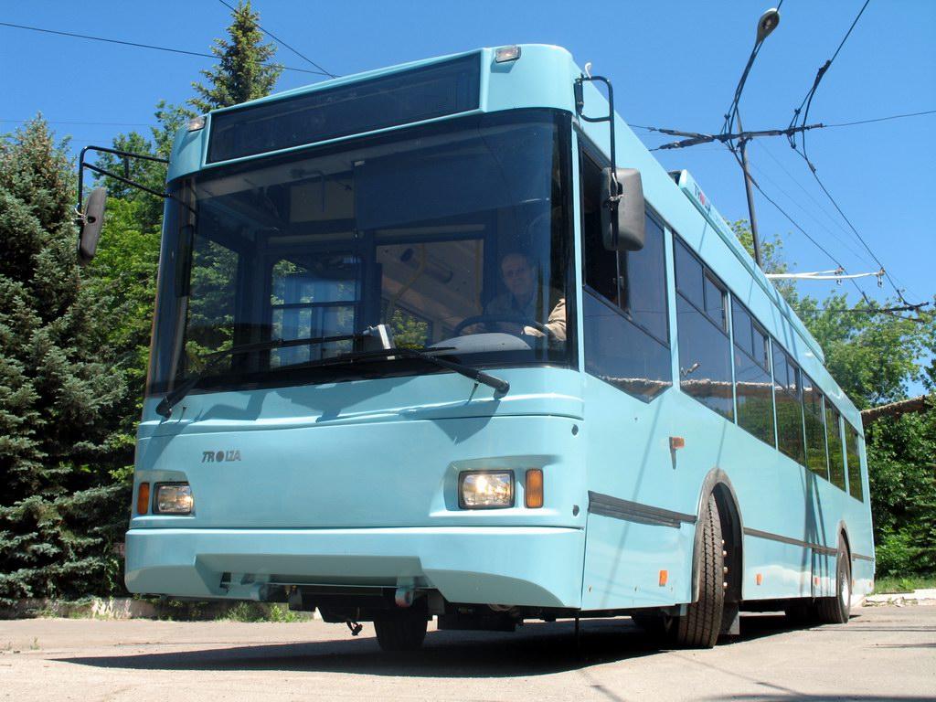 Российские троллейбусы