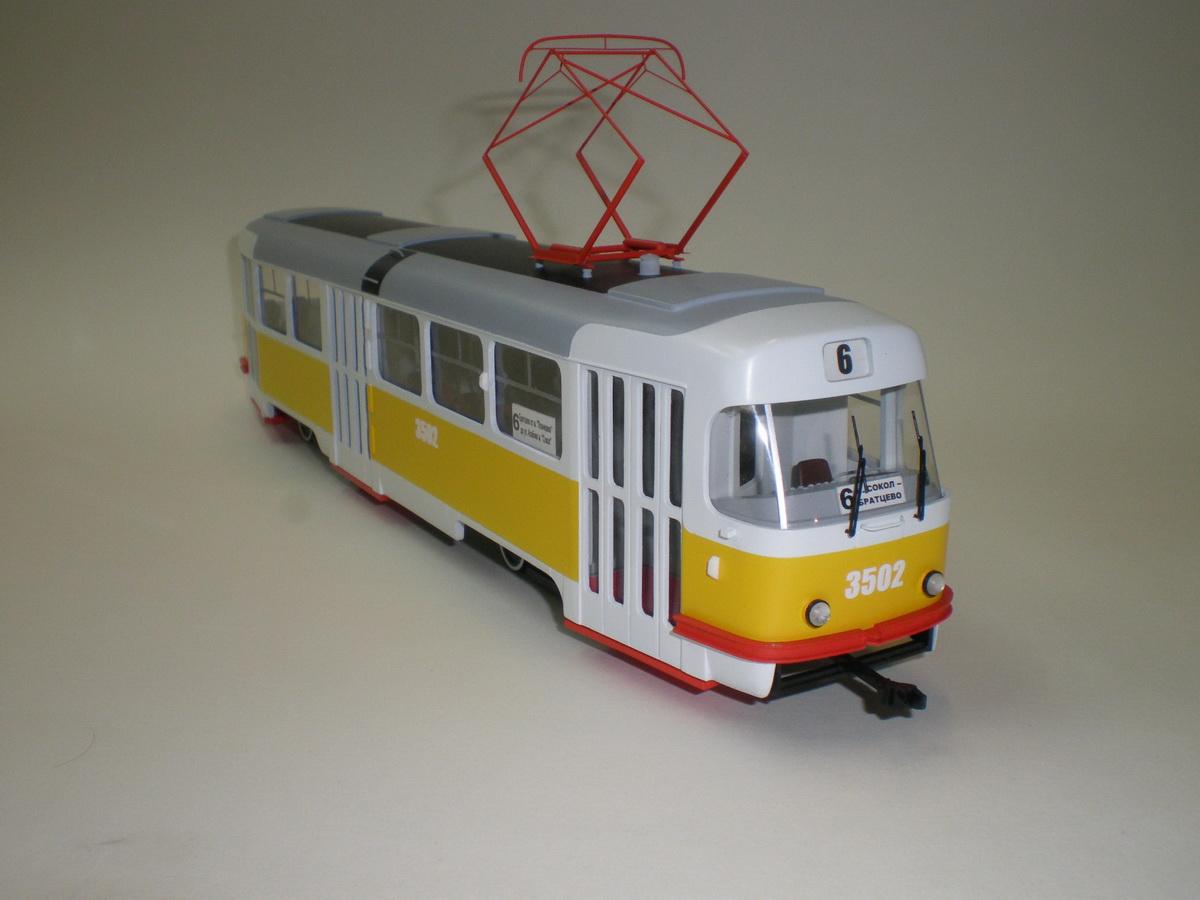 Как сделать трамвай для детей