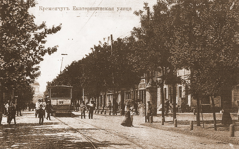 Kremenchuk, 2-axle motor car # 30; Kremenchuk — Historical photos