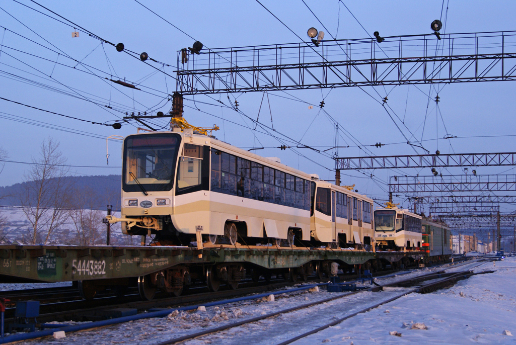 Усть-Катав, трамвай 71-619А