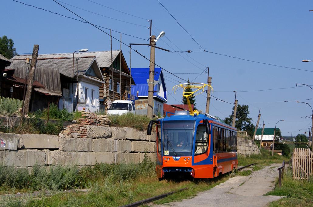 Усть - Катав. Обкатка трамваев