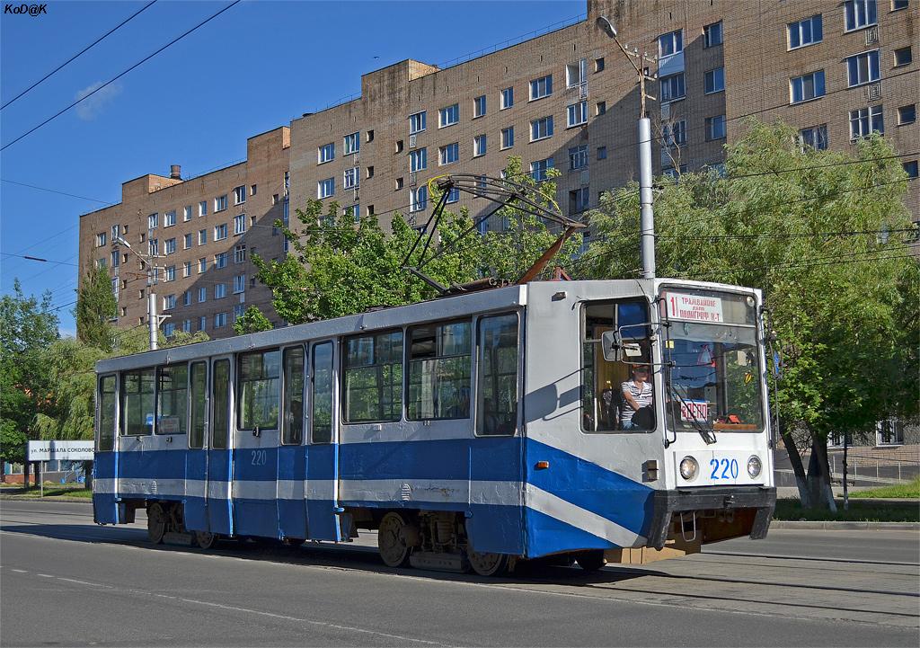 Смоленск, трамвай 71-608К №