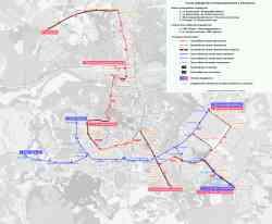 Смоленск схема трамвая
