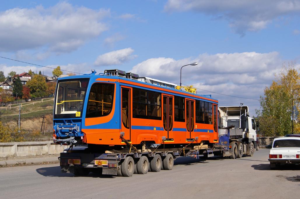 Усть-Катав, трамвай 71-623-02