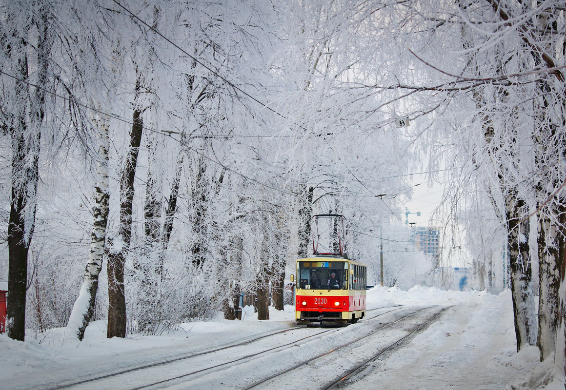 Картинка трамвай зимой
