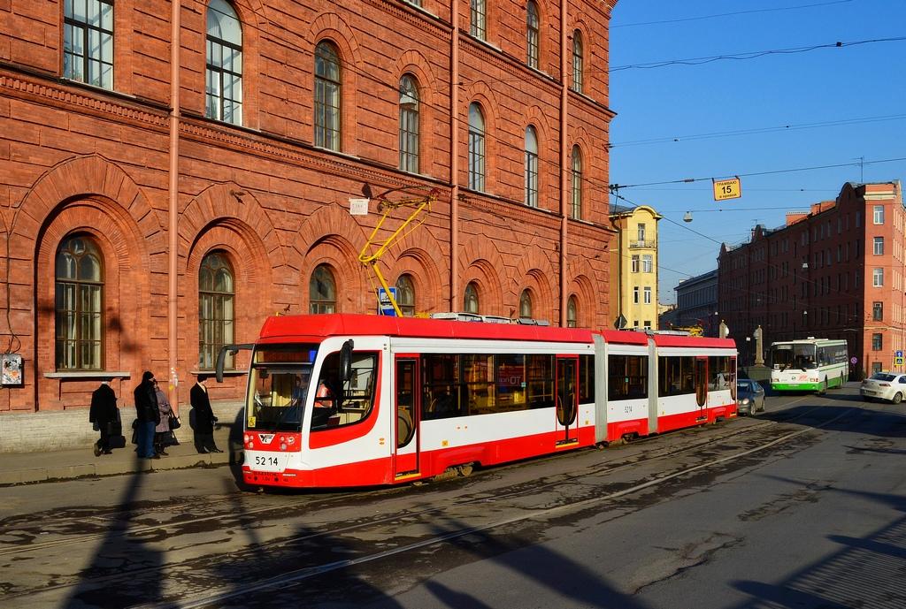 Санкт-Петербург, трамвай 71-631-02 № 5214