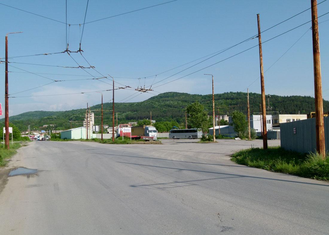 Велико-Тырново — Троллейбусная сеть и инфраструктура