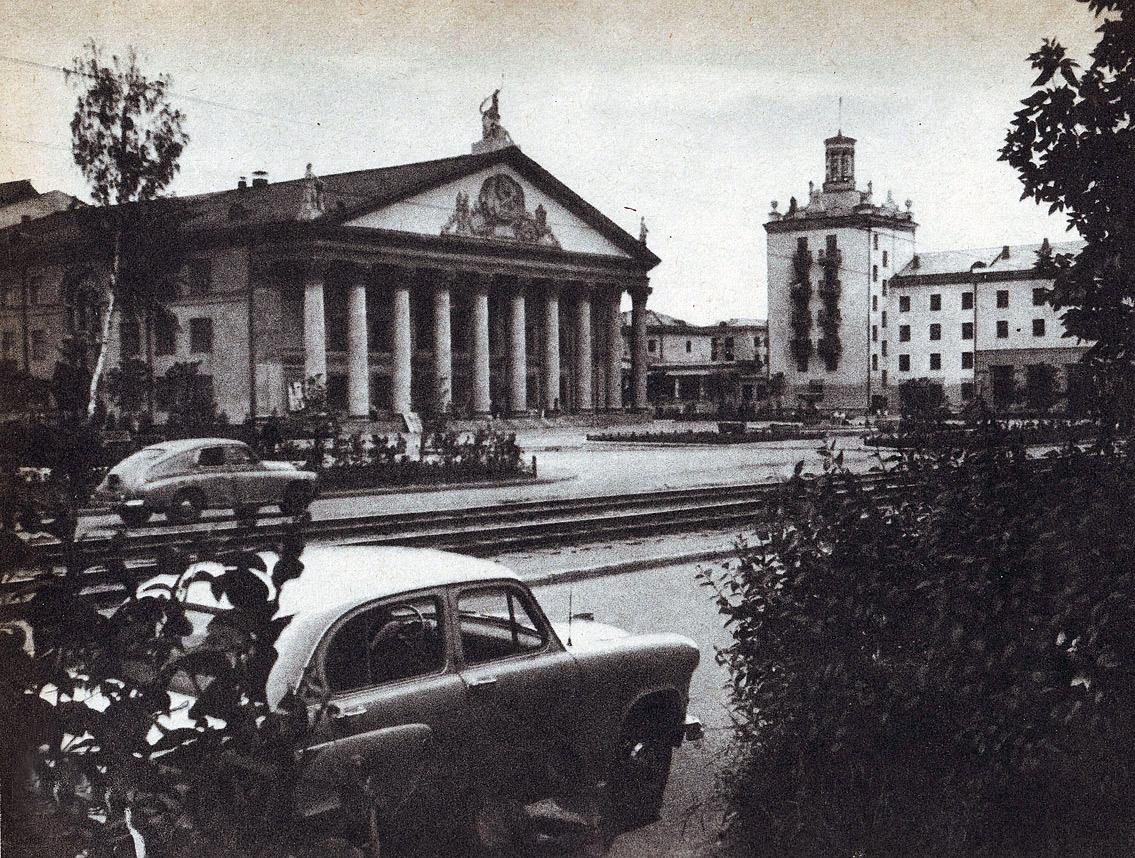 старое фото дк горького новосибирск