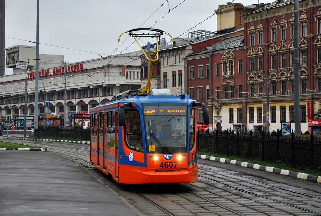 Москва, трамвай 71-623-02 № 4607