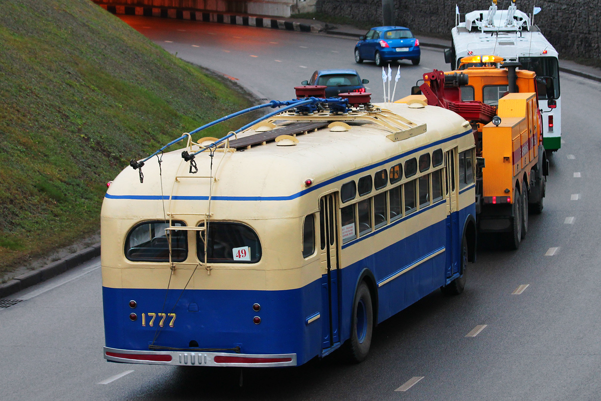 Moscow, MTB-82D # 1777; Moscow — Parade to 80 years of Moscow trolleybus at November 16, 2013