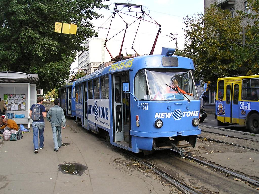 Днепр, Tatra T3SU № 1327