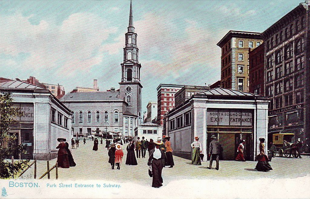 Boston — Old Photos and Postcards