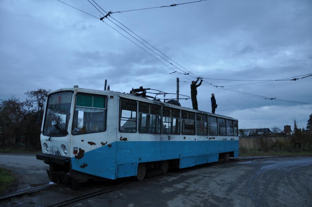 "Новый львовский трамвай ""Электрон"" опробуют на улицах Киева - Цензор.НЕТ 5701"
