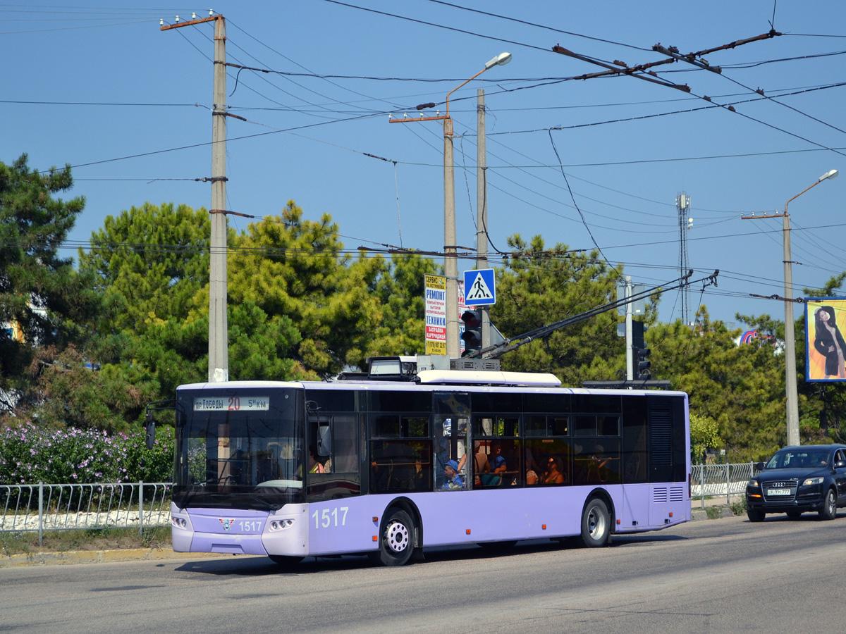 Проезд в троллейбусах Севастополя подорожает вдвое