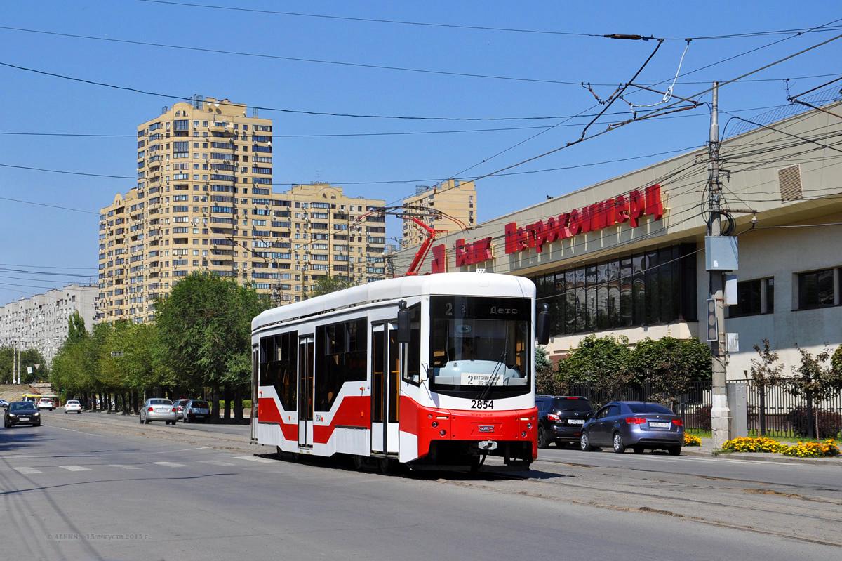Волгоград, трамвай 71-407-01 № 2854