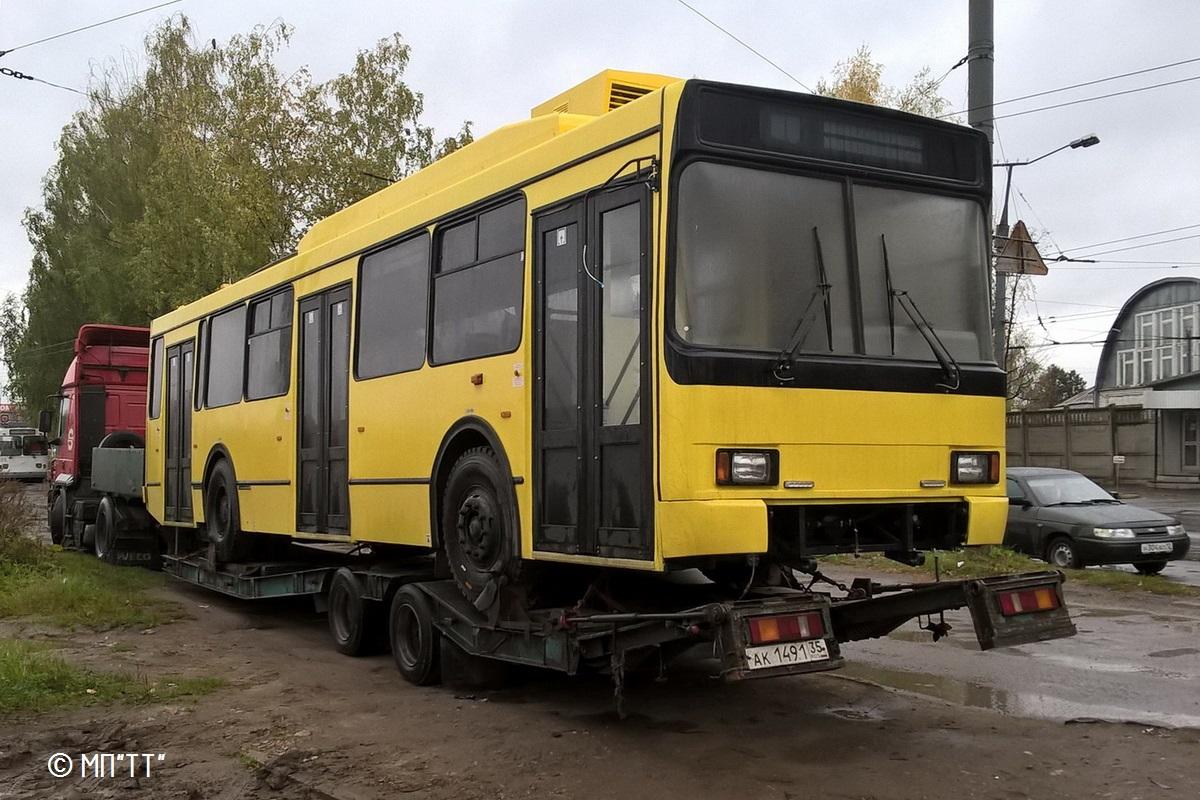 Йошкар-Ола, троллейбус ВМЗ-52981 № б/н 1