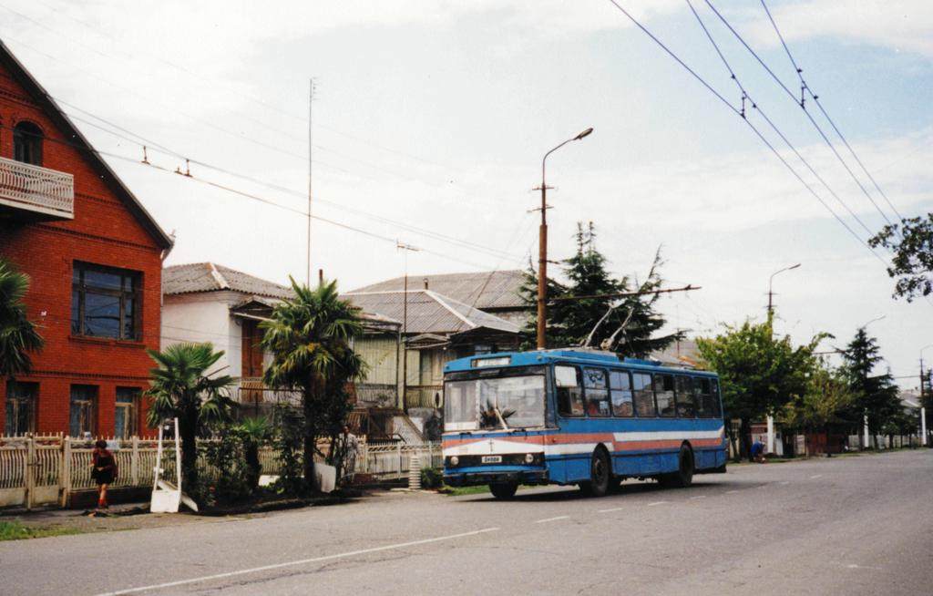 ფოთის ტროლეიბუსი 1999 წლის 15 სექტემბერი.