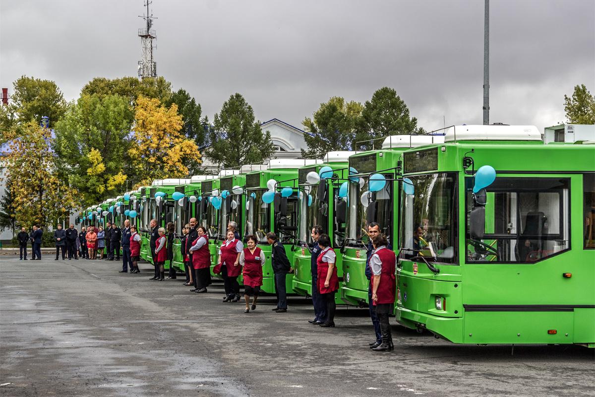 данном проекте картинки троллейбуса зеленого раскрыла
