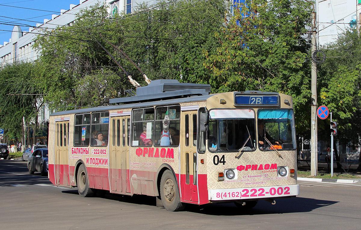 троллейбусы в благовещенске картинки