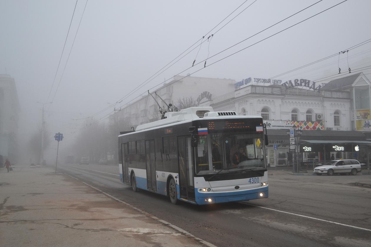Крымский троллейбус, Богдан Т70110 № 4300