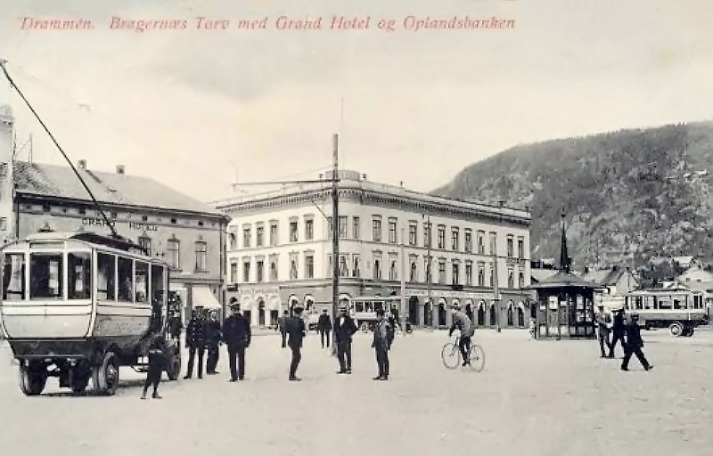 Drammen — Old photos
