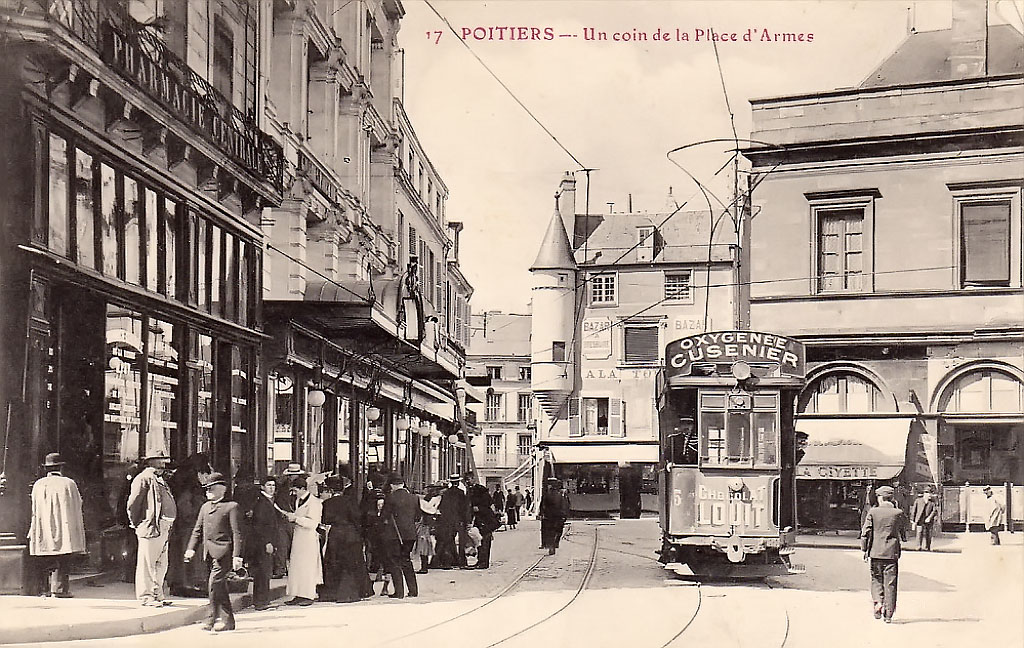 Poitiers — Old photos