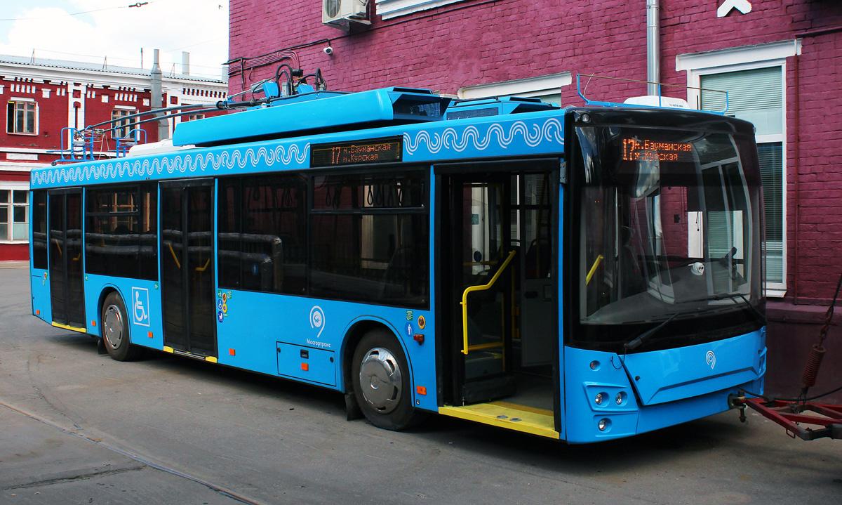 самый большой троллейбус фото справді