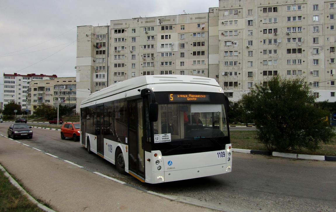 Севастополь, Тролза-5265.03 «Мегаполис» № 1109