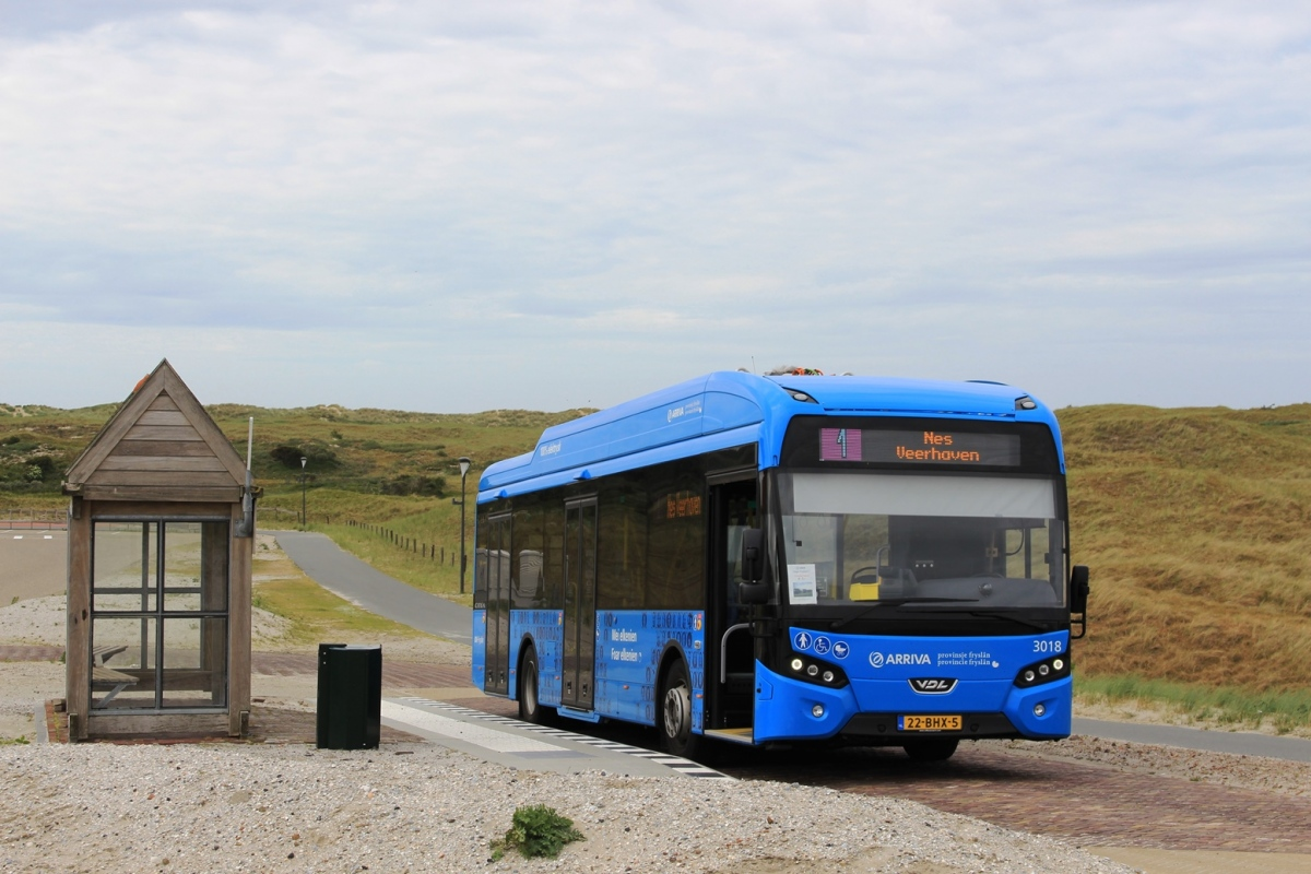 Frisian islands, VDL Citea SLF 120 Electric # 3018
