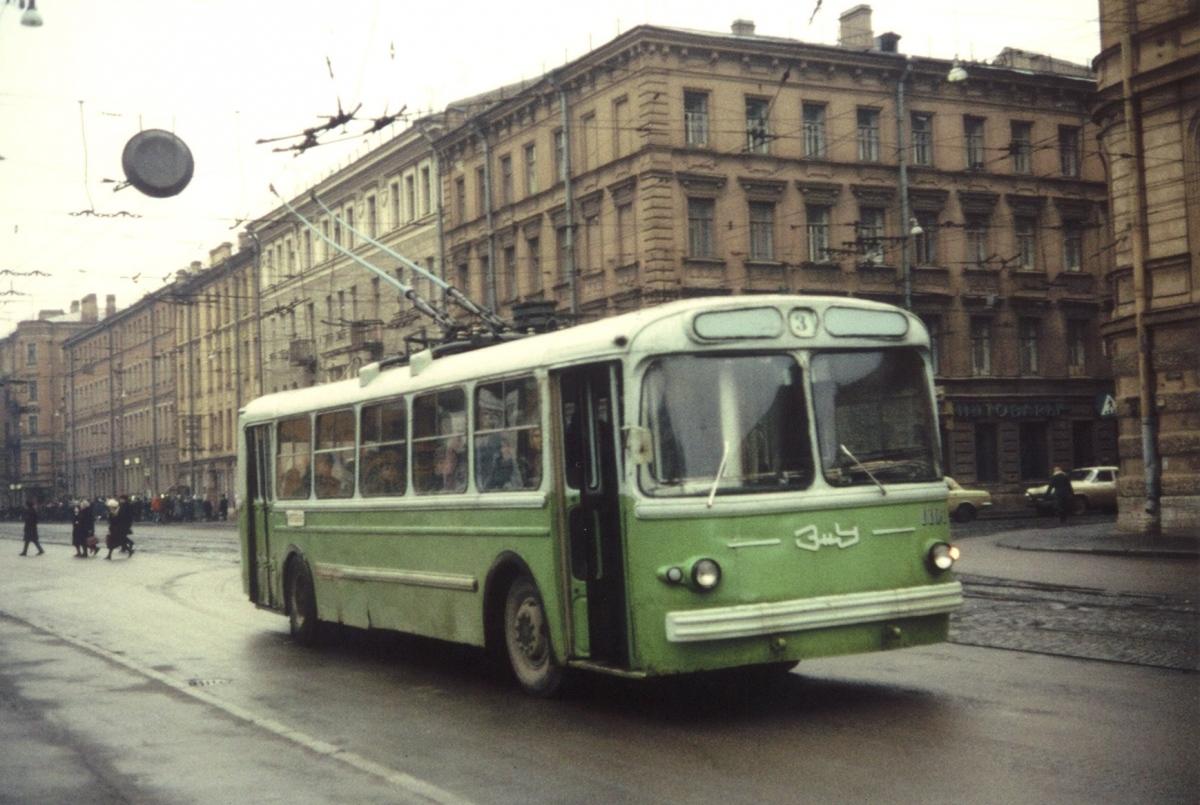 советский троллейбус фото только интересно