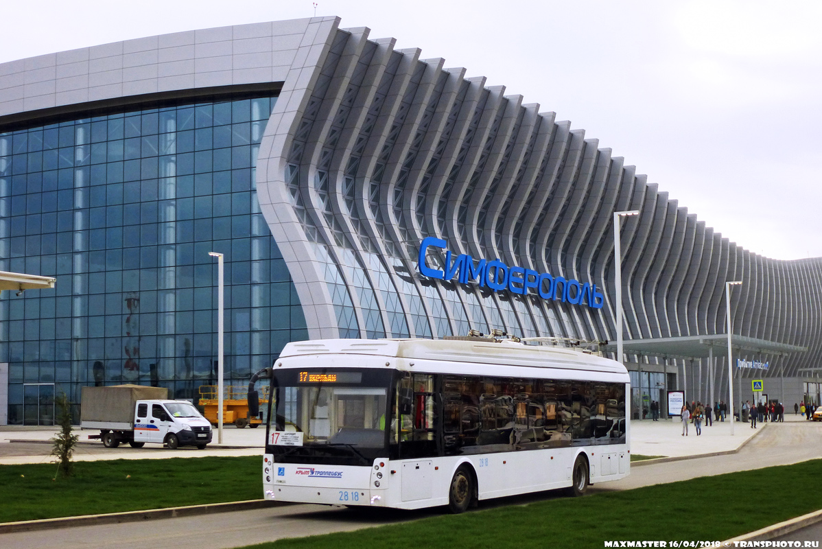 Крымский троллейбус, Тролза-5265.03 «Мегаполис» № 2818