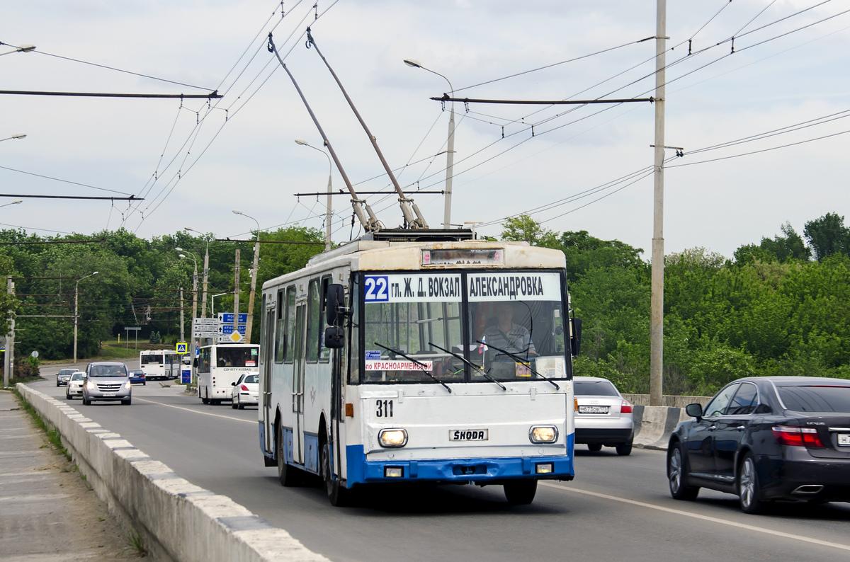 Ростов-на-Дону, Škoda 14Tr01 № 311