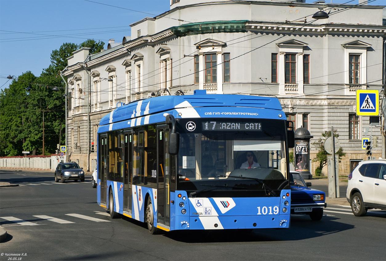 Санкт-Петербург, Тролза-5265.08 «Мегаполис» № 1019