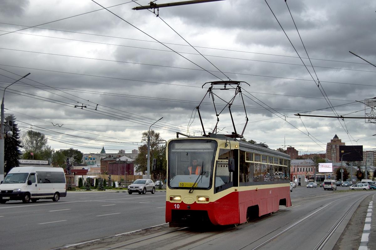 тульский трамвай фото подготовки
