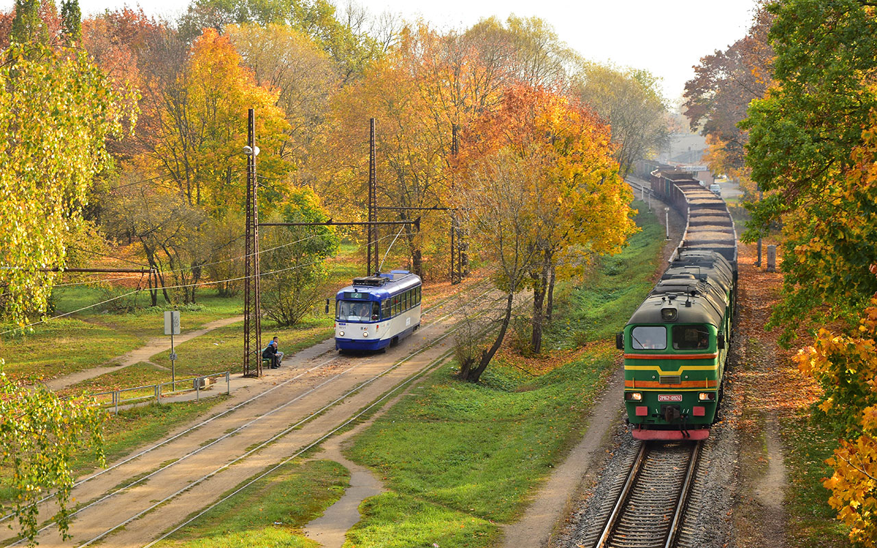 Riga — Tramway Lines and Infrastructure