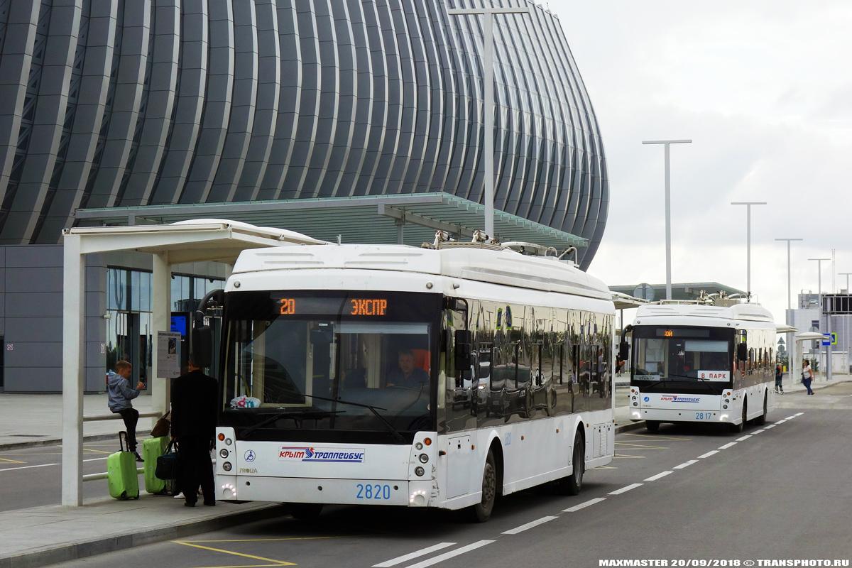 Крымский троллейбус, Тролза-5265.03 «Мегаполис» № 2820