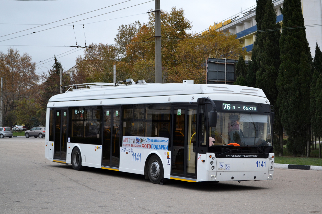 Севастополь, Тролза-5265.02 «Мегаполис» № 1141