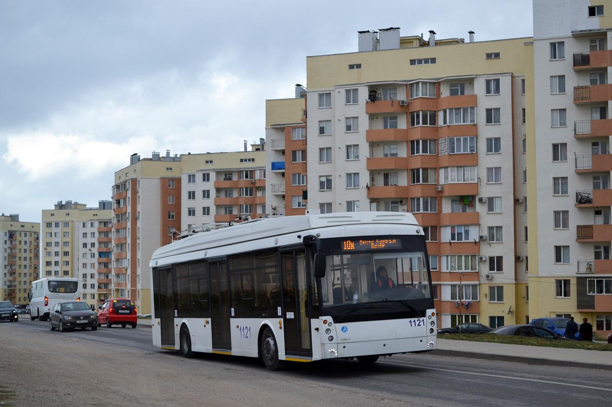 Севастополь, Тролза-5265.03 «Мегаполис» № 1121